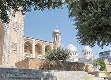 Tasjkent Kukeldash Madrassah och Juma moské 2007 Arkivbild
