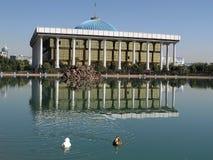 Tasjkent Majlis och damm 2007 Arkivbild