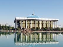 Tasjkent Majlis och dess reflexion 2007 Royaltyfri Bild