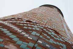 TASJKENT UZBEKISTAN - December 9, 2011: Historiskt torn på den Hast imamen Square Royaltyfri Bild