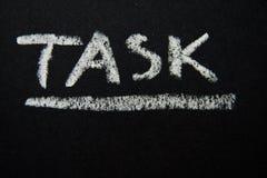 task Στοκ εικόνα με δικαίωμα ελεύθερης χρήσης