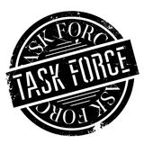 Task Force rubber stamp Royalty Free Stock Image