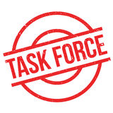 Task Force rubber stamp royalty free illustration