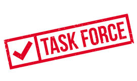 Task Force rubber stamp Royalty Free Stock Photos