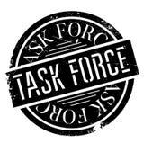 Task Force Stempel Lizenzfreies Stockbild