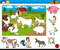 Task for preschool children Royalty Free Stock Photos
