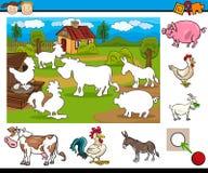 Task for preschool children Royalty Free Stock Photos
