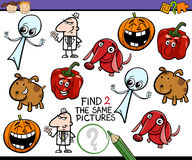 Task for preschool kids Royalty Free Stock Images