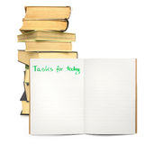 Tasks for today Royalty Free Stock Photos