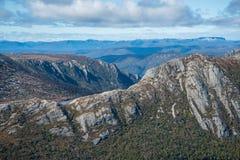 Tasmânia a região selvagem de Austrália fotos de stock royalty free