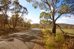 Tasmaans land Stock Foto
