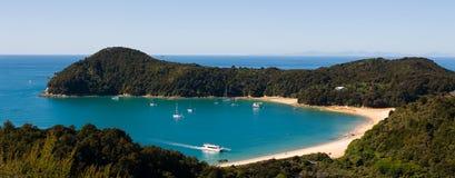 tasman亚伯的海湾 免版税库存图片