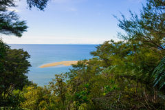 tasman abel nationalpark Royaltyfria Bilder