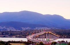 Tasman-Brücke stockbild