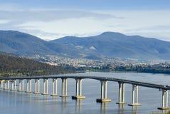 Tasman Brücke Derwent Fluss Lizenzfreie Stockfotografie