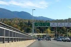 tasman bridżowy Hobart Zdjęcie Royalty Free