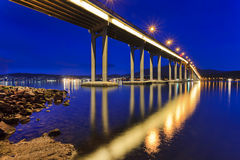 Tasman Bridge Side Close Royalty Free Stock Photos