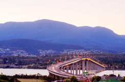 Tasman Bridge Stock Image