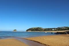 Tasman de la Nouvelle Zélande Abel de plage de Kaiteriteri Photo stock
