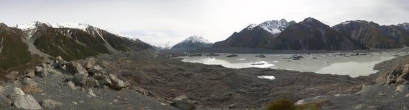 tasman glaciär Fotografering för Bildbyråer