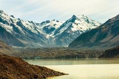 Tasman Glacier stock image