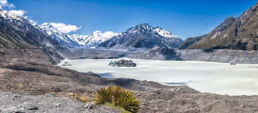 Tasman Glacier Royalty Free Stock Photo