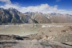 Tasman Glacier Stock Images