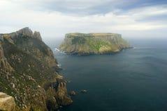 Tasman Insel-Umhang-Pfosten Stockfotografie