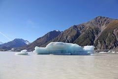 Tasman jezioro - Nowa Zelandia Fotografia Stock