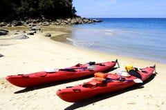 tasman kayaking för 2 abel Arkivfoton