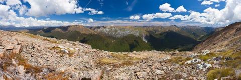 Tasman Mountains of Kahurangi NP, New Zealand Royalty Free Stock Photo