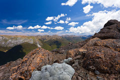 Tasman Mountains of Kahurangi NP, New Zealand Royalty Free Stock Photography