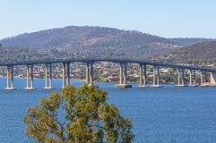 Tasman-Straßenbrücke - Hobart stockfotografie