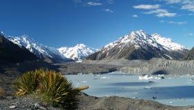 Tasman valley Stock Image