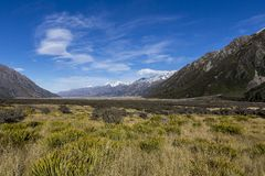 Tasman Valley Royalty Free Stock Images