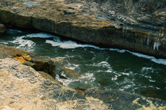 Tasmania blowhole in Port Arthur Stock Photography