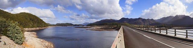 Tasmania Burbery hor panorama Zdjęcie Stock
