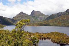Tasmania, Cradle Mountain NP, Australia. Cradle Mountain Lake St. Clair National Park, Tasmania, Australia Royalty Free Stock Photos