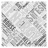 Tasmania house energy star ratings word cloud concept Royalty Free Stock Images