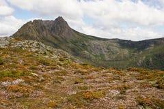 Tasmania, montaña NP, Australia de la cuna Imagenes de archivo