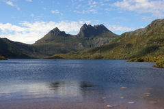 Tasmania, montaña NP, Australia de la cuna Imagen de archivo libre de regalías