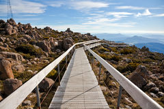Tasmania mountain Royalty Free Stock Images