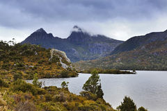Tasmania Mt Cradle Closer sunset Royalty Free Stock Photos