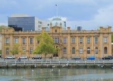Historical building Hobart Tasmania  Royalty Free Stock Photo