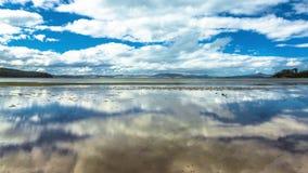 Tasmania Sky and Sea stock video