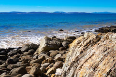 Tasmanian beach Royalty Free Stock Photography