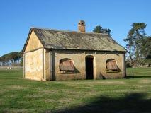 tasmanian lantgårdskjul Arkivbild