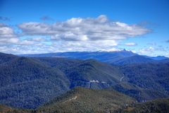 Tasmanian mountains Stock Photos