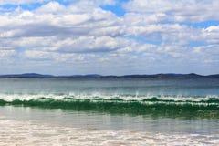 Tasmanian plaża w lecie Obraz Royalty Free
