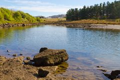 Tasmanian river Royalty Free Stock Photo